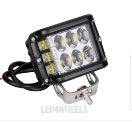 Set Led werklampen side light 36w 12/24 volt