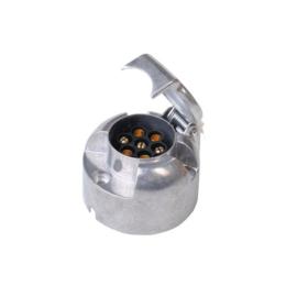 Stekkerdoos 7 polig metaal