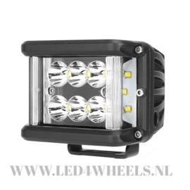 Led werklamp 60 watt side shooter