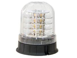 LED zwaailamp HELDER lampglas 12-24V