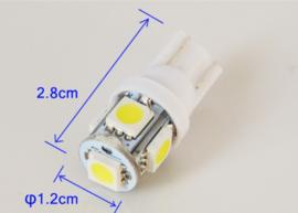 LED t10 w5w wit