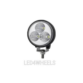 Led compacte 12 watt ronde werklamp 12/24 volt