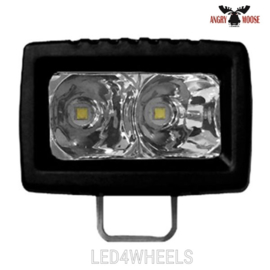 led 20 watt 12/24 volt SINGLE 10 2'' spot