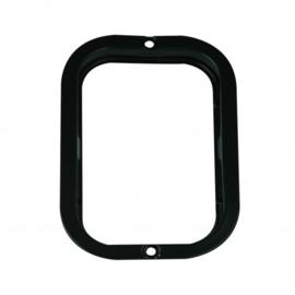 Zwarte stalen lens t.b.v. 130-serie