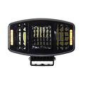 Set van 4 LED Verstraler met dagrijverlichting oranje/wit