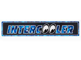 Intercooler blauw  - sticker