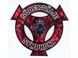 Sodertalje Symphony rood - sticker
