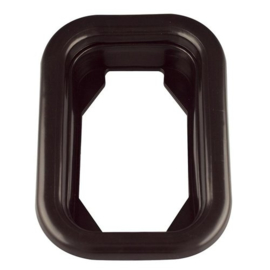 Opbouwrand rubber 130-serie