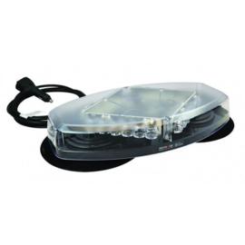 Mini LED zwaailampbalk  24 high power LED's  12-24v magneet