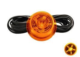 Gylle led breedte lamp oranje