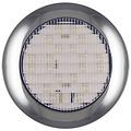 LED achteruitrijlicht met chromen rand 12-24v