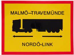Malmö-Travemünde  - sticker