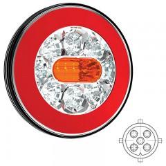 LED ACHTERLICHT ZONDER KENTEKENVERL. 12/36V 5 pins
