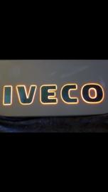 Embleem verlicht Iveco S/way alle kleuren