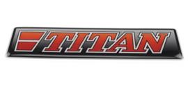 TITAN ROOD - 3D DELUXE FULL PRINT STICKER