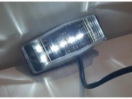 Full LED dubbelbrander met helder lampglas