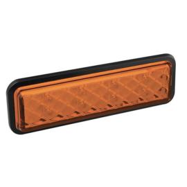 LED knipperlicht inbouw slimline 12-24v