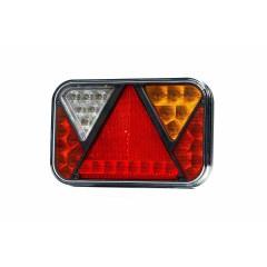 LED rechter achterlicht met achteruitrijlicht 12v