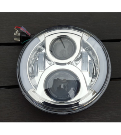 Chrome LED koplamp Side DRL