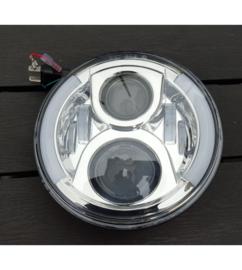 Chrome LED koplamp Side DRL