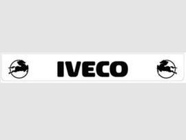 Spatlap achterbumper wit Iveco in zwart