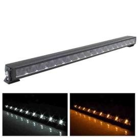 LED Lightbar slimline met Amber of Witte dagrijverlichting 76,3 CM