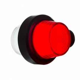 LED PENDELLAMP, KORTE STEEL & MATTE LENS,DEENS MODEL 12/24V
