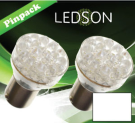 LED-LAMP XENON LOOK - 360 13 DIODE P21/5W BAY15D
