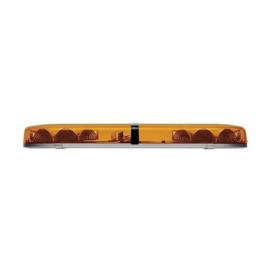 zwaailampbalk amber lens met 2 LED modules 762mm | 10-30v |