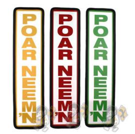 POAR NEEM'N BORD - 40X10CM