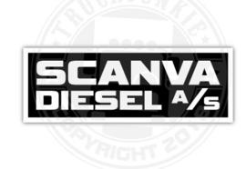 SCANVA DIESEL A/S - FULL PRINT STICKER