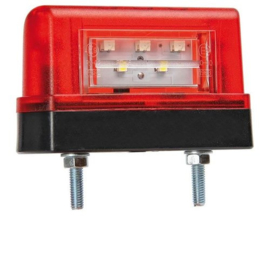 LED kentekenverlichting 12-36v HOOG