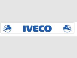 Spatlap achterbumper wit Iveco in blauw