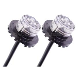 Flitslamp HideAway Oranje (set van 2)