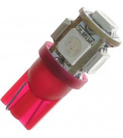 LED t10 w5w rood