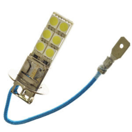 H3 LED-LAMP XENON LOOK 12 SMD 24V