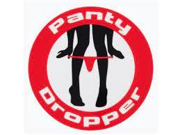 Panty dropper - sticker