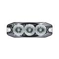 Compact led knipperlicht met heldere lens 12/24 volt
