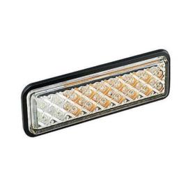 LED knipper-markeerlicht inbouw slimline 12-24v