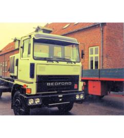 Classic Zonneklep bedford truck