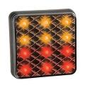 LED compact achterlicht 12v/24v 0,3m. kabel