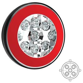 LED MISTLICHT MET ACHTERLICHT 12/36V 5 pins