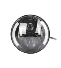 Black LED koplamp Side DRL