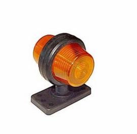 Deense breedtelamp halogeen Gylle oranje/oranje
