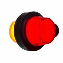 LED PENDELLAMP, KORTE STEEL & MATTE LENS, DEENS MODEL 12/24V