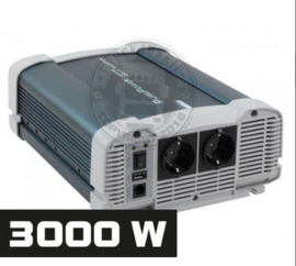 3000W - ZUIVER SINUS OMVORMER - PURE POWER 24-220V