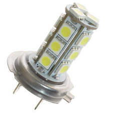 H7 LED-LAMP XENON LOOK 18 SMD 24V