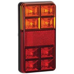 LED compact achterlicht zonder kent.verl. 12V 0,4m. kabel 12v