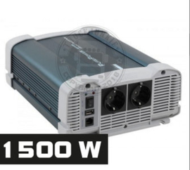 1500W - ZUIVER SINUS OMVORMER - PURE POWER 24-220V