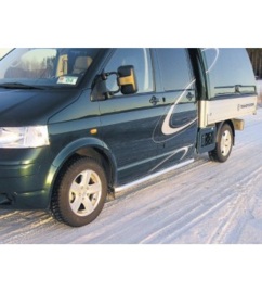 VW TRANSPORTER T5 SIDE BARS CHASSIS CABINE